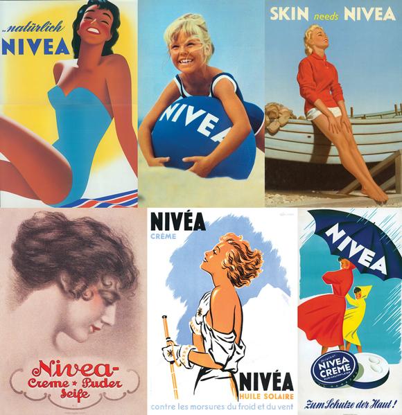Ретро-реклама Nivea