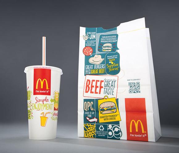 Новая упаковка McDonald's