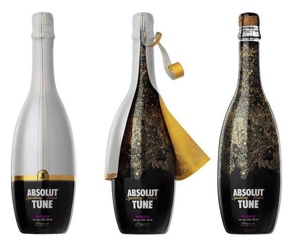 Подарочная упаковка водки Absolut