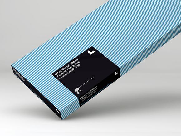 Упаковка хирургических скальпелей
