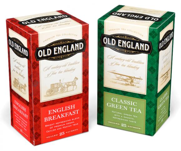 Упаковка чая Old England