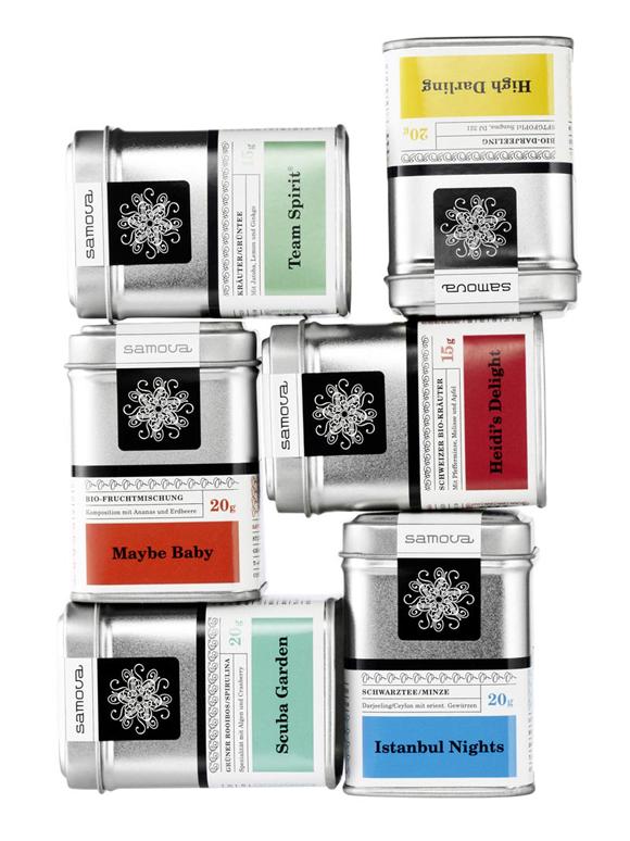 Дизайн банки чая