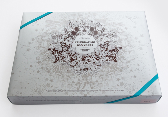 Упаковка шоколада Thorntons
