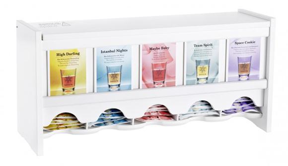 Упаковка-диспенсер для чайных пакетиков