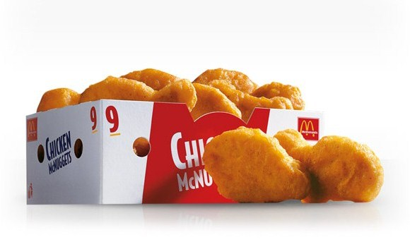 Упаковка McDonald's