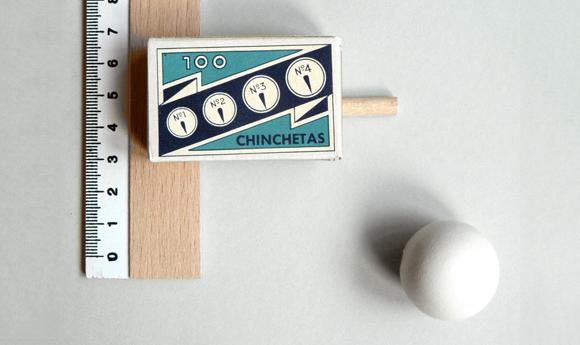 Винтажная упаковка кнопок