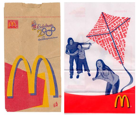 Пакеты McDonald's
