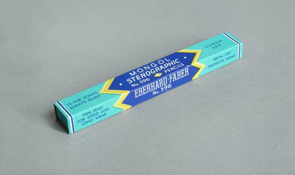 Винтажная упаковка карандашей