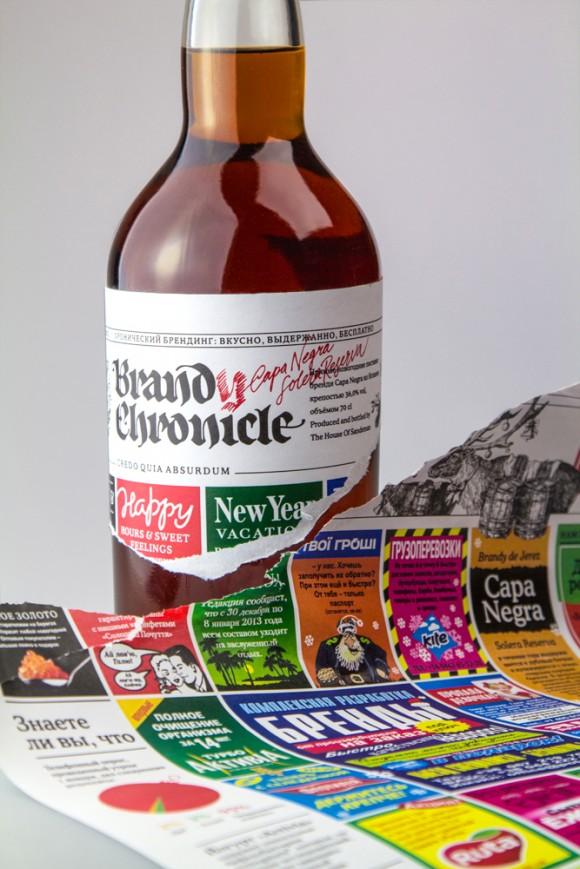 Упаковка бренди — идея корпоративного подарка