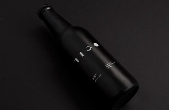 Черная бутылка