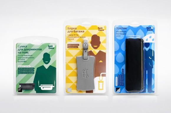 Упаковка дорожных аксессуаров — брендинговое агентство Plenum