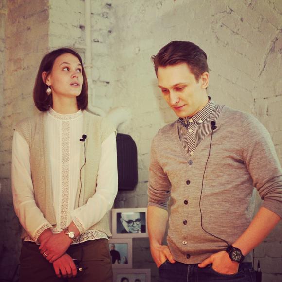 Татьяна Харитонова и Егор Мызник — брендинговое агентство Plenum