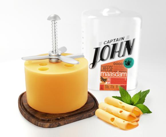 Концепт упаковки сыра