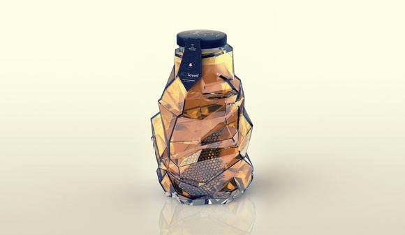 Концепт упаковки меда