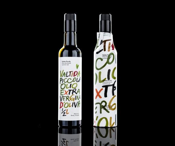 Бутылка оливкового масла