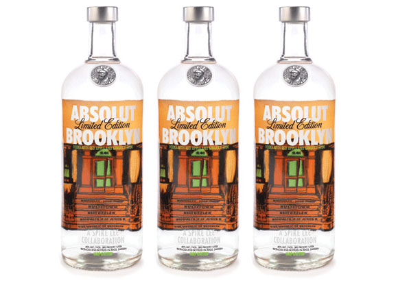 Absolut Brooklyn limited edition