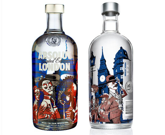 Absolut London limited edition