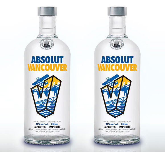 Absolut Vancouver limited edition