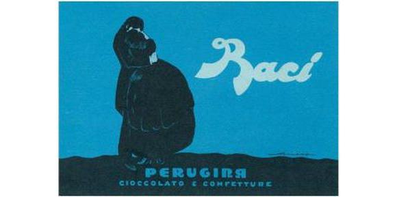 Рекламный постер конфет Baci