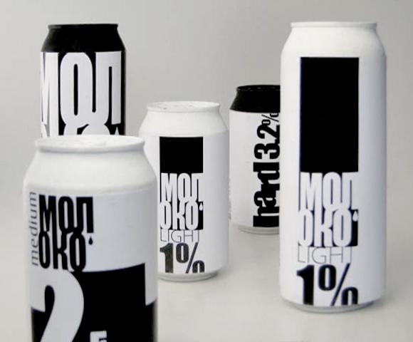 Концепт упаковки молока