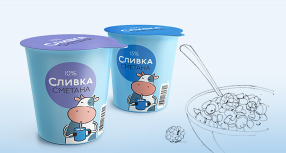 Молочные продукты «Сливка»