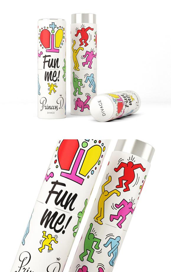 Упаковка женского парфюма
