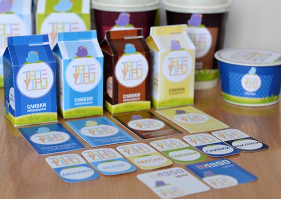 Концепт упаковки бюджетных продуктов питания