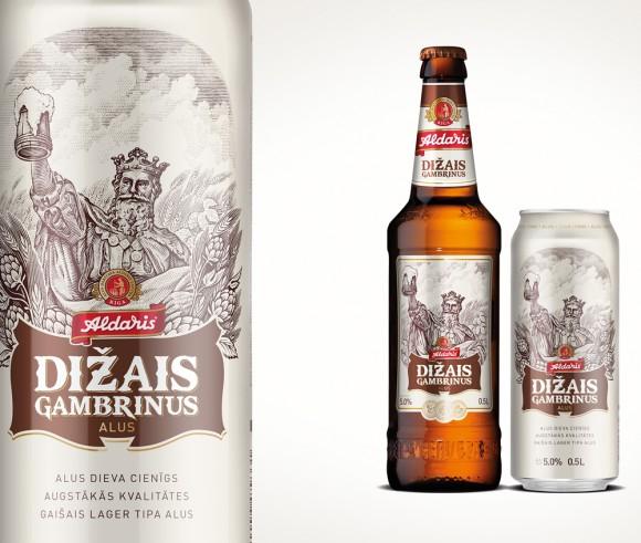 Пиво « Aldaris Dižais Gambrinus»