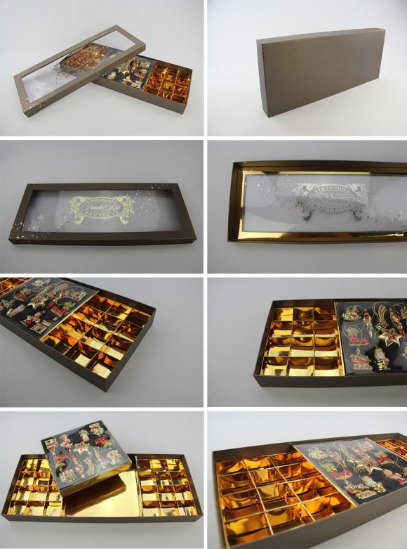 Подарочная коробка ручной работы для конфет