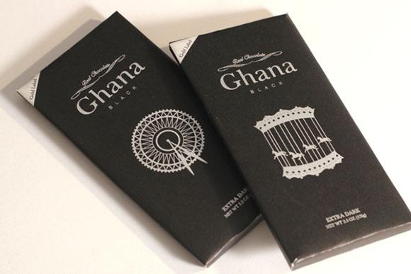 Упаковка шоколада