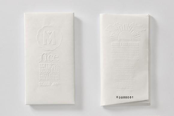 Упаковка дорогого шоколада