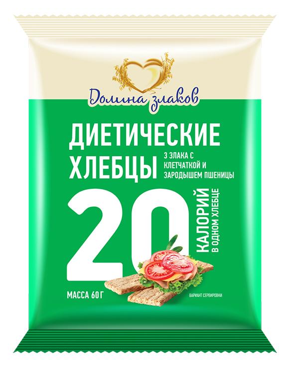 Концепт упаковки хлебцев