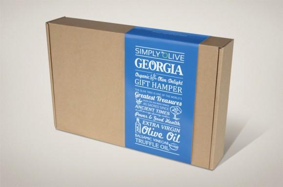 Подарочная упаковка масла