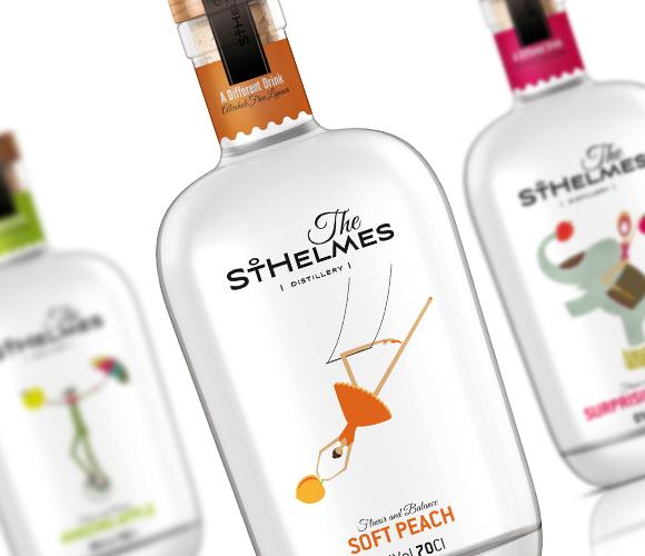 Дизайн бутылки ликера