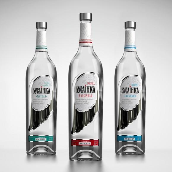 Водочная бутылка