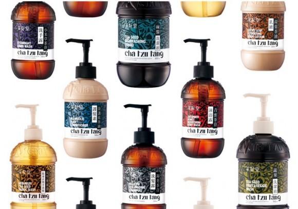 Концепт упаковки средств по уходу за волосами