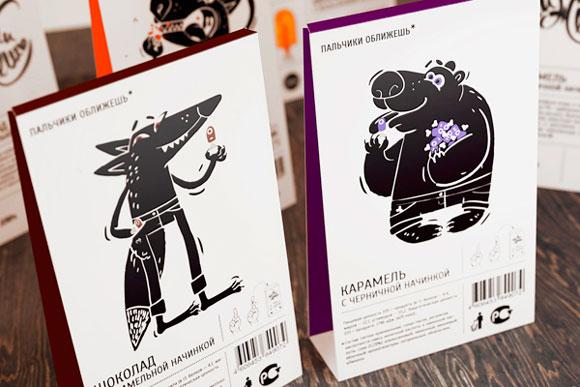 Концепт упаковки конфет