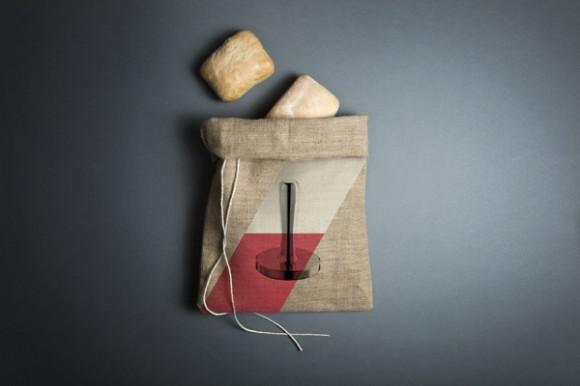 Холщовый мешок для хлеба