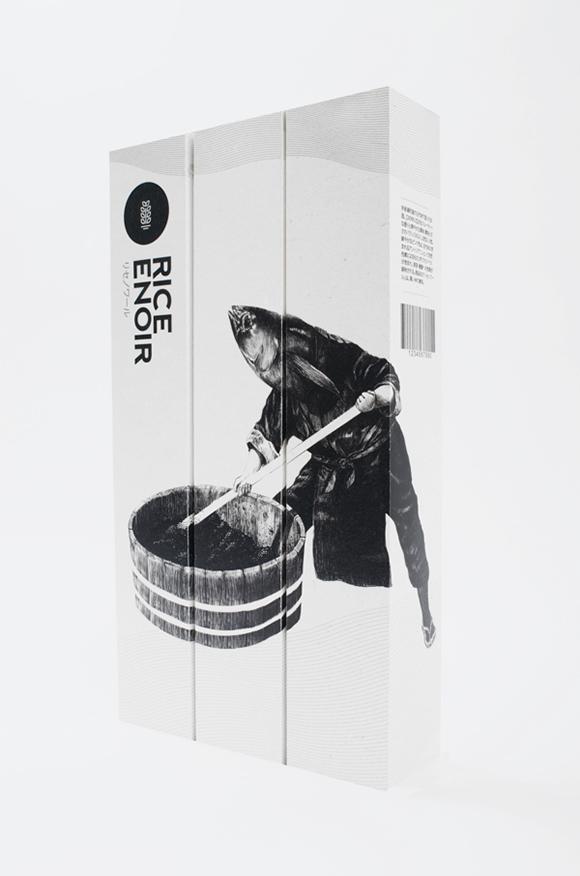 Дизайн упаковки саке