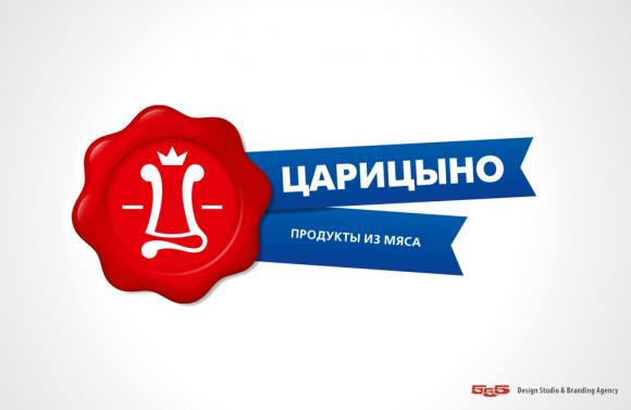 Редизайн логотипа Царицыно