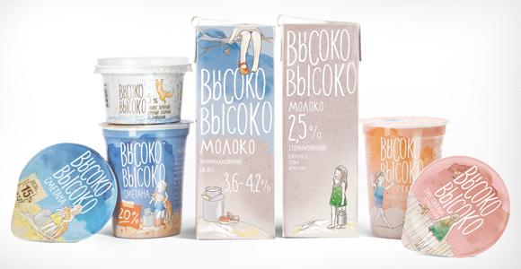 Упаковка молочных продуктов