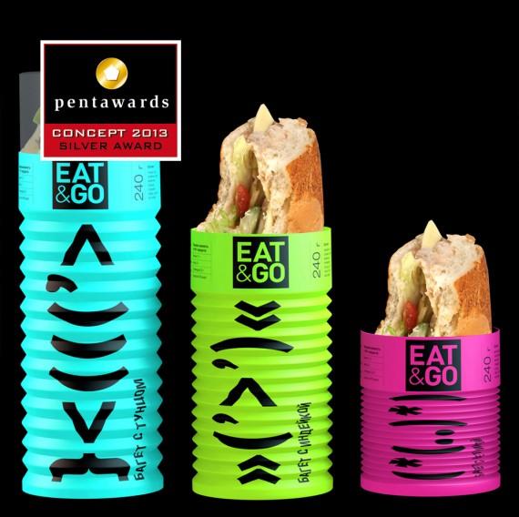 Концепт упаковки готовых обедов
