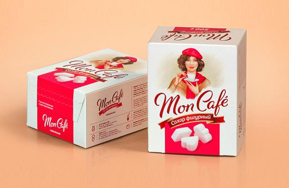 Фигурный сахар «Mon Café»