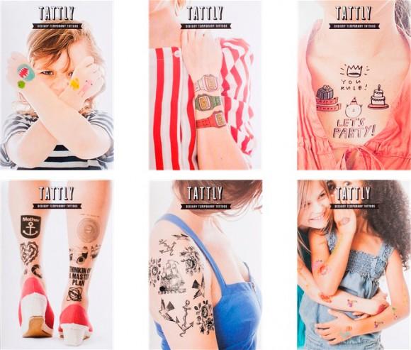 Дизайн упаковки временной татуировки