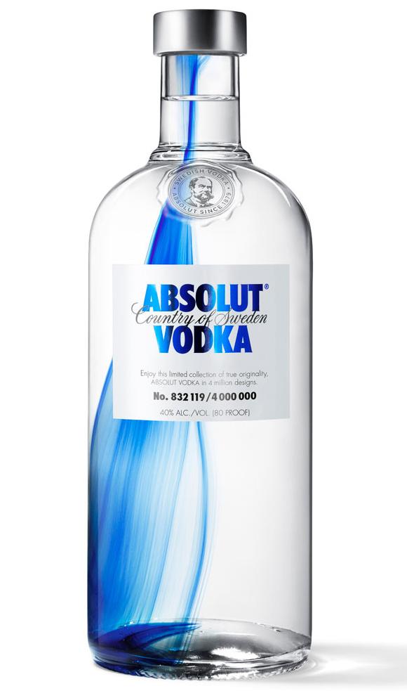 Дизайн бутылки Absolut Originality