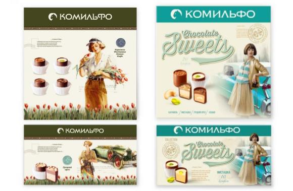Редизайн упаковки конфет