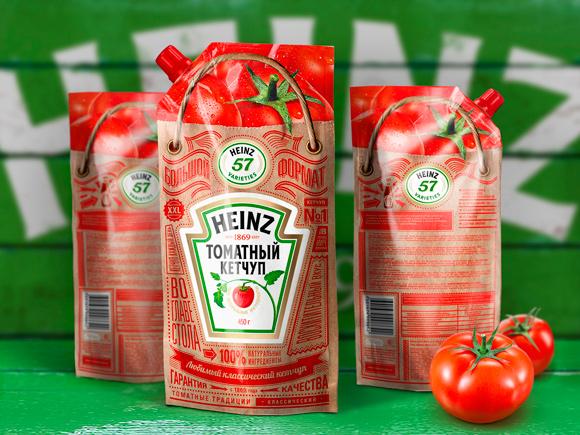 Дизайн упаковки кетчупа