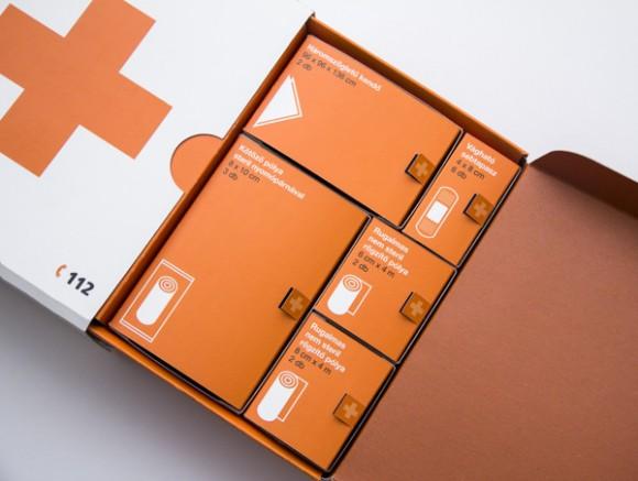 Упаковка аптечки