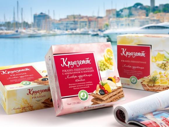 Редизайн упаковки хлебцев