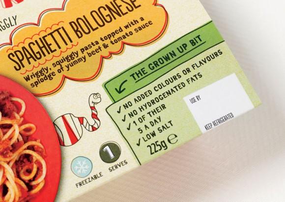 Дизайн упаковки замороженных обедов